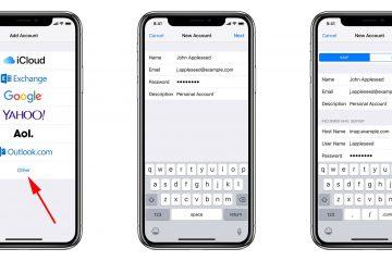 Como adicionar e configurar uma conta de email no iPhone ou iPad