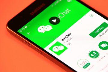 Como alterar a localização no WeChat