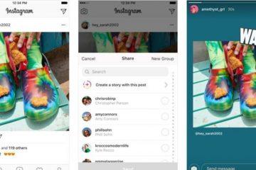 Como compartilhar postagens no Instagram Stories?