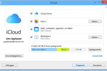 Como criar uma conta do iCloud no Windows 7, Windows 8 e Windows 10