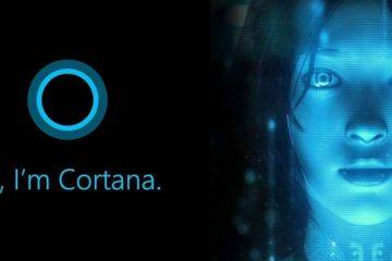 Como baixar todos os meus dados da Cortana