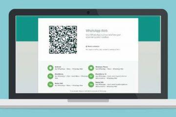Como digitalizar o QR Code WhatsApp Web com a câmera frontal?