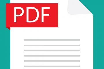 Como criar um PDF editável em algumas etapas