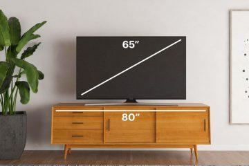 Como medir uma TV e sua proporção?