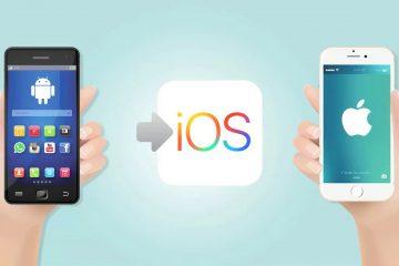 Como passar todas as informações do Android do iOS para um iPhone