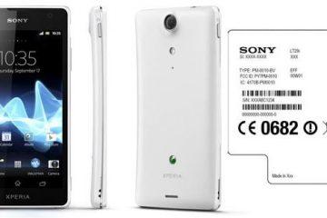 Como saber o número do modelo Sony Xperia