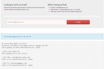 Como saber se existe um e-mail [Verificar e-mail]