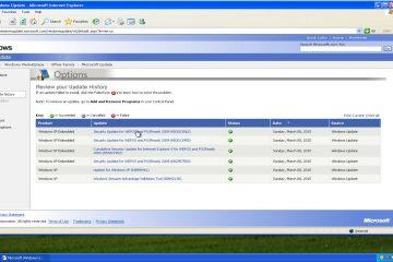 Como atualizar o Windows XP