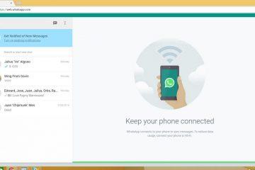 Como desativar o WhatsApp Web