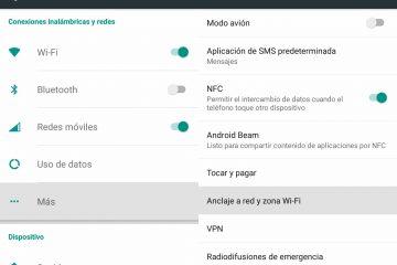 Como compartilhar dados e Internet em telefones Android e iOS