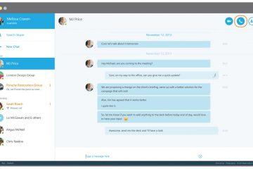 Como compartilhar sua tela durante uma chamada do Skype