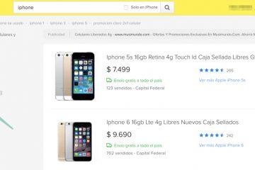É seguro comprar um telefone no MercadoLibre?