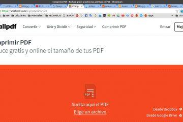 Como compactar arquivos em formato PDF facilmente
