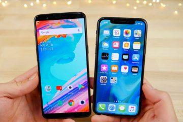 Como converter um telefone Android para um iPhone X