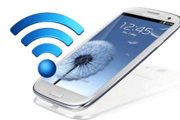 Como usar o seu celular como um roteador Wifi de uma maneira muito simples