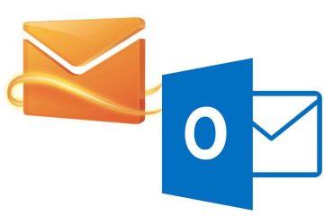 Acesse diretamente a Caixa de entrada no Hotmail a partir de outro PC