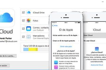Como criar uma conta do iCloud a partir de um Mac ou iPhone
