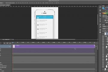 Como criar um GIF animado de um vídeo no PC usando o Photoshop CC