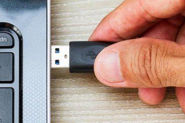 Como reparar uma porta USB que NÃO funciona?