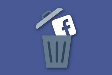 Como remover todas as suas postagens e comentários do Facebook?