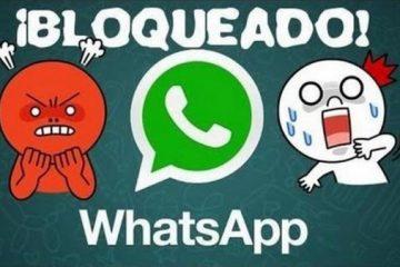 Conta bloqueada no WhatsApp: como corrigi-lo?