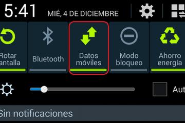 Solução para NÃO O ícone Dados móveis aparece