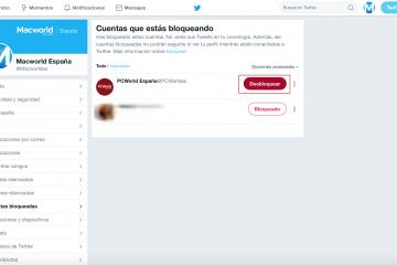 Como desbloquear um usuário no Twitter?