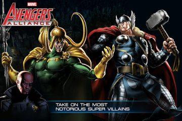 Baixe Avengers Alliance para LG: escolha seu herói