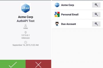 Faça o download do Duo Mobile para Android: para mais segurança
