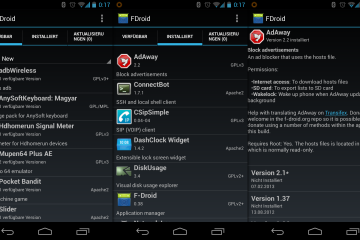 Download do F-Droid para Android: a alternativa ao Google Play