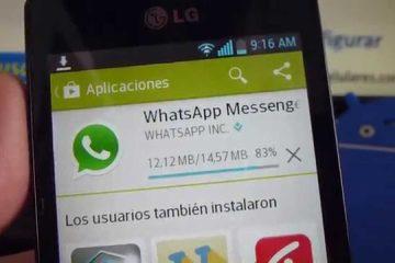 Como baixar uma atualização do WhatsApp 2019 na LG