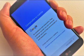 Como verificar a Conta do Google após restaurar o meu celular
