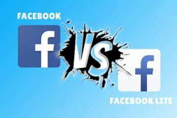Quais são as diferenças entre o Facebook Lite e o Facebook APP «normal»? Qual é o melhor?