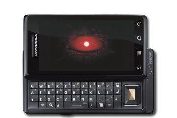 Como instalar um cartão SD em um Motorola Droid?