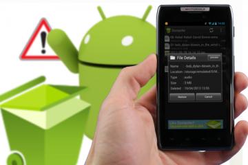 Como recuperar fotos excluídas no seu celular e tablet Android