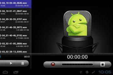Quais são os melhores aplicativos de gravação de voz para Android? Lista 2019