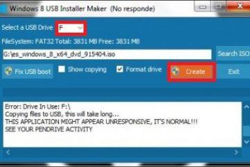 Como criar um USB inicializável ou inicializável para instalar o Windows 8 e 8.1 a partir de um pendrive externo? Guia passo a passo