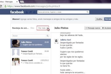 Como excluir mensagens arquivadas do Facebook de um celular ou PC?