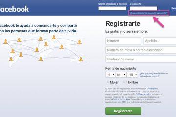 Como entrar no Facebook sem se registrar? em 3 etapas