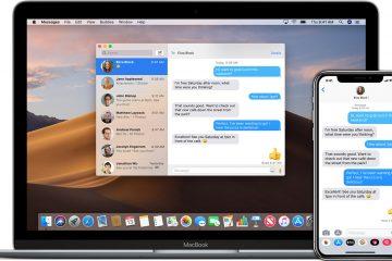 Como impedir o agrupamento de mensagens de email no Mac