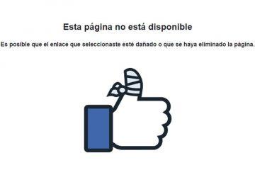 O que fazer se sua conta do Facebook estiver temporariamente bloqueada?