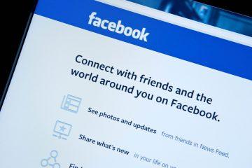 O Facebook para ao abrir o Messenger [Solução]