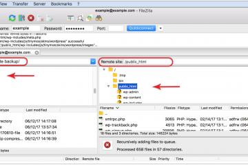 Como usar o Filezilla como FTP?