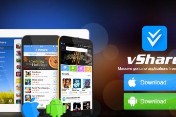 Como baixar e instalar o vShare Free para iPhone, iPad e iPod?