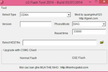 Como baixar LG Flash Tool para Windows