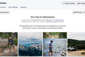 Como criar um álbum compartilhado no Facebook? – Compartilhe suas fotos e vídeos