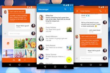 O Google Messenger chega carregado de notícias