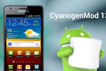 Guia rápido e fácil de instalar o CyanogenMod 13 para Galaxy S2