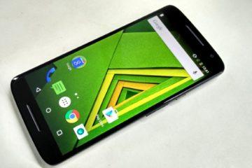 Como alterar a letra do Moto G Mobile?