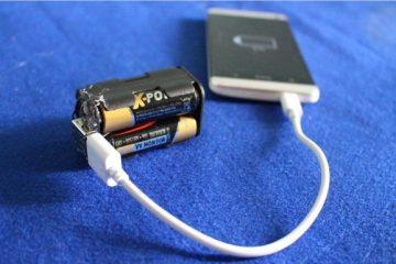Como fazer uma bateria externa móvel em casa